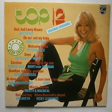 LP Various ‎– Top 12 Holland Cheesecake Cover Jim Croce Status Quo Nazareth Nm