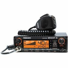 CB home base ham radio président grant 2 AM FM ssb multi-standard