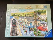 1000 Piece THE COUNTRY STATION  Stunning  Jigsaw Puzzle  Ravensburger Complete