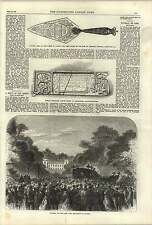 1868 Funeral Late Lord Brougham At Cannes Roman Tablet Bridgeness