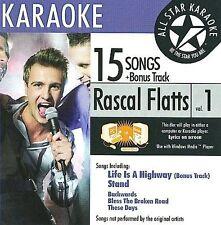 Rascal Flatts ASK-1550 Country Karaoke; Rascal Flatts CD
