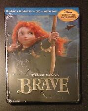 BRAVE 3D Blu Ray SteelBook Future Shop Exclusive 5-Disc Digital Copy New OP Rare