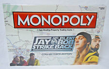 Jay & Silent Bob Strike Back MONOPOLY Board Game Collector's Edition NEW SEALED