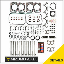 Fit 96-99 Subaru Impreza Legacy Forester 2.5 DOHC EJ25D Head Gasket Set Bolts