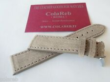 22mm ColaReb SPOLETO STITCHING Italian vintage leather watch band strap bracelet