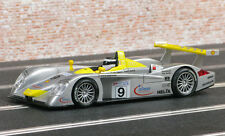 SCX 1/32 Yellow Silver #9 Audi R8 infineon Racing Slot Car 60760