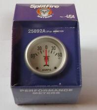 Splitfire (LECE) Amperímetro, 0-60 Amperios, Plata frente; (67mm) 25892a