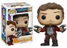 Funko POP! Guardians Of The Galaxy Vol. 2: Star-Lord - Vinyl Bobble-Head 198 NEW