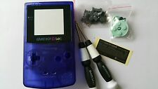 HOUSING POUR GAMEBOY COLOR CLEAR BLUE NEW
