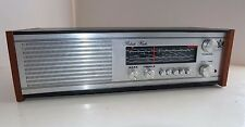 Superba vintage con ROBERTS rm40 Radio AM FM AUX input TABLE TOP funziona bene