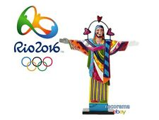 RIO 2016 SUMMER OLYMPICS CHRIST THE REDEEMER FIGURINE ROMERO BRITTO LIMITED ED.