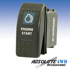 *Engine Start* Rocker Switch Blue - ARB Carling LED 12v Landcruiser Patrol 4x4