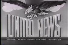 UNITED NEWS 1943 NEWSREELS VOLUME 2 VINTAGE RARE DVD