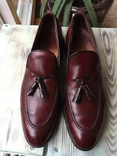 ALLEN EDMONDS  Size 11.5 AA Tassel Loafers Brown / Burgundy Mens Dress Shoes