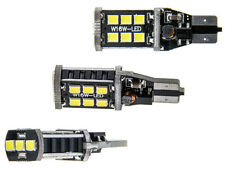 2x 15 SMD LED W16W W2.1x16d Weiß 6000K T15 CAN-Bus 2835 LEDs 12V CheckControl