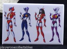 "Mazinger Angels - 2"" X 3"" Fridge / Locker Magnet. Ready Player One - Tanzer Z"