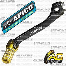 Apico Black Yellow Gear Pedal Lever Shifter For Suzuki RMZ 250 2007-2016 Motocro