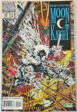 Marc Spector: Moon Knight #55 (1993) 1st Stephen Platt Marvel work, NM range.