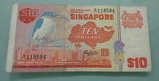 Willie : Sgd 10 dollar birds series