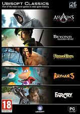 Ubisoft Classics (5 game pack, incl Assassin's Creed) (PC DVD) NEW SEALED