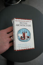 OBSERVERS BRITISH ARCHITECTURE 1951    FUN GIFT    vintage book  N