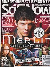 SciFi Now Magazine UK NO.72, MERLIN, SPIDER-MN 2 & HUNGER GAMES.