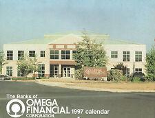 1997 BANKS OF OMEGA FINANCIAL CALENDAR-PENN CENTRAL-PENNSYLVANIA.-COMPLETE