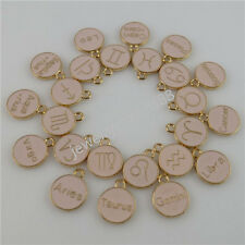 12PC Aries Taurus Gemini Cancer Leo Libra Scorpio Virgo Zodiac Horoscope Pendant