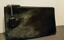 Coach Small cosmetic /Coin Purse Black  Preowned