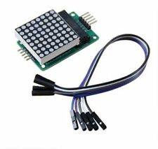 MAX7219 Red Dot Matrix Module MCU, UNO Control LED Display DIY with free Cable