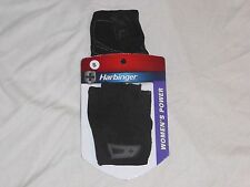 NEW Harbinger Women's Power Weightlifting / Fitness Gloves Pair Black Size SMALL
