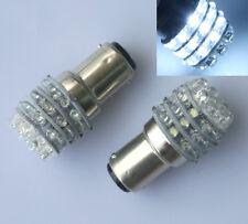 2pcs 12V 36 LED BA15D 1157 White Light Globe Boat Caravan Brake Turn Light Bulbs