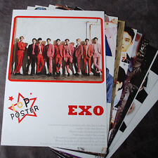 K-POP EXO XOXO EXO-K EXO-M 10Posters Collection Bromide (10PCS) A4 SIZE NEW