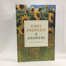 God's Promises and Answers for Women by Terri Gibbs Printed HC Free Shipping