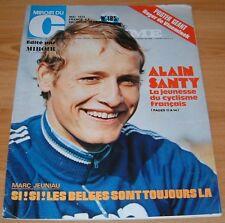 MIROIR CYCLISME N°185 1974 SANTY R. DE VLAEMINCK CAPUT BELGIQUE MAERTENS MAROC