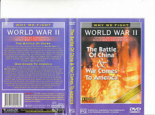 World War 2-Why We Fight-The Battle of China/War America-1943-TV Series-USA-DVD