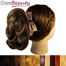 Clip in Clip on Hair Bun - Hair Accessories - All Styles & Colours Bun Hairpiece