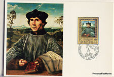 LIECHTENSTEIN   Carte Postale Maximum N° 57 QUENTIN MASSYS UN CHANOINE LIE02
