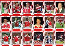 Arsenal 1993 FA Cup final winners football trading cards