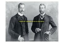 mm477 -Prince Albert Duke Clarence & brother George future king George V - photo
