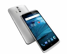"ZTE Axon 4G Unlocked Smartphone 5.5"" 32GB 2GB Silver(North America Warranty) NEW"