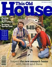 1995 This Old House Magazine: Perfect Lawn/Keeping out Cold/Lighthouse/Routers