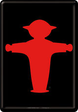 Ampelmännchen Berlin Red Tin Sign 10x14 cm Sheet map 16415 Sign