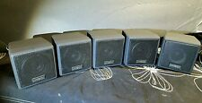 Cambridge Soundworks Desktop Theater 5.1 -5 Speakers  only creative
