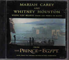 Mariah Carey and Whitney Houston-When You Believe Promo cd single