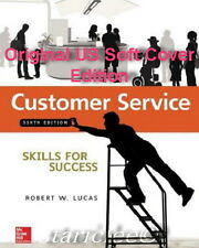 NEW 3 Days US Customer Service Skills for Success 6E Robert W. Lucas 6th Edition