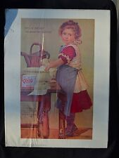 Vtg 1975 Portal Publications Lithograph This Is The Way We Watch Clothes print