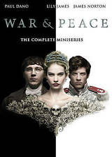 War And Peace: BBC Miniseries Lily James & Paul Dano   DVD NEW Free Shipping