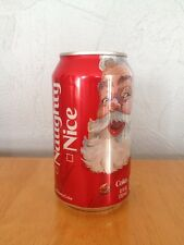 Coca-Cola Coke Can Santa Claus Naughty Nice 2015 Christmas Holiday