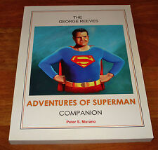 THE GEORGE REEVES ADVENTURES OF SUPERMAN COMPANION AUTHOR AUTOGRAPHED BOOK
